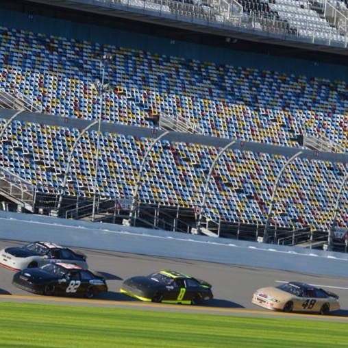 Daytona ARCA 2015 January test.