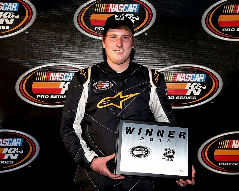 Austin Hill Continues NASCAR K&N Pro Series East Winning Streak into 2015 Season