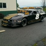 Sean Corr's dirt car