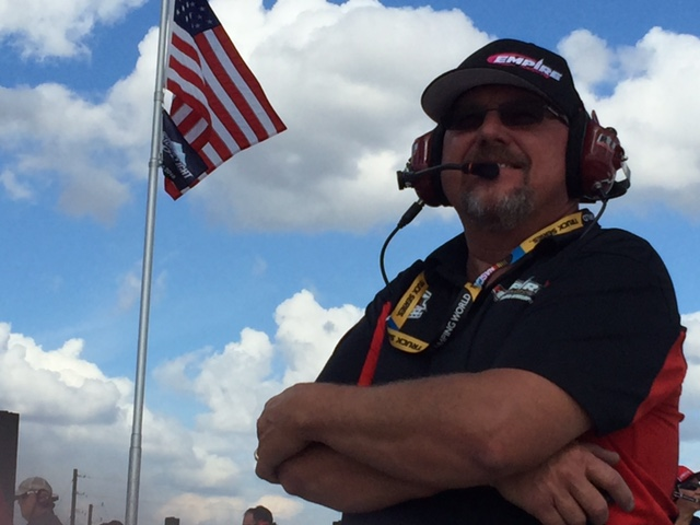 "Mike ""Grumpy"" Cheek, General Manager & Head Crew Chief"